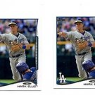 Mark Ellis Trading Card Lot of (2) 2014 Topps Mini Exclusives #111 Dodgers