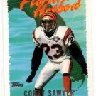 Corey Sawyer Tradng Card Single 1995 Topps #FH6 Bengals