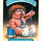 Repaired Rex Sticker Trading Card 1986 Topps Garbage Pail Kids #174B