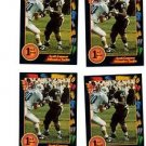 Scott Conovor Trading Card Lot of (4) 1991 Wild Card #14 NMT