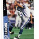Jason Hanson Trading Card 1996 Upper Deck Collector's Choice P325 Lions