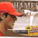 Cole Hamels Baseball Heroes Insert 2010 Upper Deck #BHA-8 Phillies