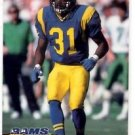 Steve Israel Tradng Card Single 1993 Pro Set #238 Rams