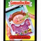 Colleen Screen Black Parallel SP Trading Card 2013 Topps Garbage Pail Kids #60b