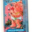 Unclean Helene Sticker Trading Card 1987 Topps Garbage Pail Kids #315B