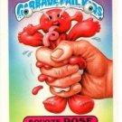 Squoze Rose Sticker Trading Card 1987 Topps Garbage Pail Kids #321b