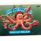 Smellin Helen Sticker Trading Card 1987 Topps Garbage Pail Kids #310B