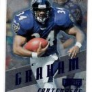 Jay Graham Blue Parallel 1997 Playoff Contenders #15 Ravens