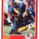 Ron Hall RC Trading Card Single 1989 Score #126 Buccaneers