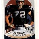 Don Mosebar Trading Card Single 1990 Fleer #258 Raiders