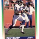 Mark Ingram Tradng Card Single 1990 Score #437 Giants