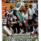 Oronde Gadsden Tradng Card Single 2000 Fleer Ultra #198 Dolphins