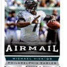 Michael Vick Airmail Trading Card Single 2013 Score #244 Eagles