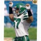 Mo Lewis Trading Card 1992 Upper Deck #48 Jetls AR