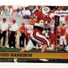 Todd Harrison Trading Card Single 1992 Courtside #109