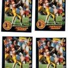Todd Marinovich Trading Card Lot of (4) 1991 Wild Card #35