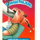 Ruth Canal Sticker Trading Card 1987 Topps Garbage Pail Kids #333B