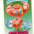 Amazin' Grace Sticker Trading Card 1986 Topps Garbage Pail Kids 147a