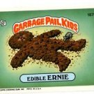Edible Ernie Sticker Trading Card 1986 Topps Garbage Pail Kids #187B