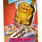 Melba Toast Sticker Trading Card 1986 Topps Garbage Pail Kids 143a