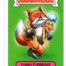 Furry Farrah Trading Card Single 2014 Topps Garbage Pail Kids #75a