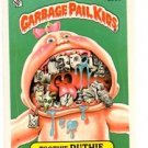 Toothy Ruthy Sticker Trading Card 1986 Topps Garbage Pail Kids #203a