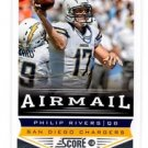 Philip Rivers Airmail Trading Card Single 2013 Score #247 Chargers