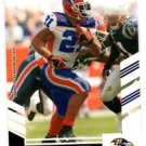 Willis McGahee Trading Card Single 2007 Score #177 Ravens