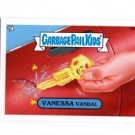 Vanessa Vandal Exclusive Sticker 2013 Topps Garbage Pail Kids MIni #198b
