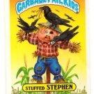 Stuffed Stephen Sticker Trading Card 1986 Topps Garbage Pail Kids 131a