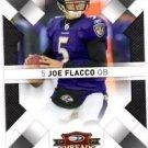 Joe Flacco Trading Card Single 2009 Donruss Threads #8 Ravens