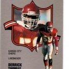 Derrick Thomas Trading Card Single 1990 Fleer All-Pro #13 Chiefs