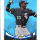 Alexei Ramirez 2010 Topps Finest Blue Refractor #20 177/299 White Sox