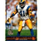 Todd Lyght Trading Card Single 1996 Topps #81 Rams