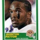 Quinton Patton RC Trading Card Single 2013 Score #413 49ers