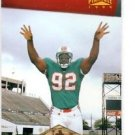 Daryl Gardener RC Trading Card Single 1996 Pinnacle #174 Dolphins