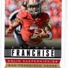 Colin Kaepernick Future Franchise Trading Card Single 2013 Score #320 49ers