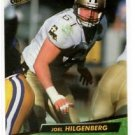 Joel Hilgenberg Trading Card 1992 Fleer Ultra #362 Saints