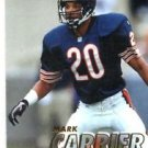 Mark Carrier Tradng Card Single 1997 Fleer #87 Bears
