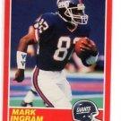 Mark Ingram RC Trading Card Single 1989 Score #204 Giants