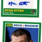 Ryan Otten Auto RC & Base RC Lot 2013 Score #415 Jaguars