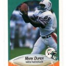 Mark Duper Trading Card Single 1990 Fleer #239 Dolphins
