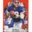 Jim Kelly Trading Card Single 1990 Fleer #113 Bills