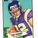 Toby Gerhart 52 Bowman Insert 2010 Topps #52B-34 Vikings