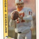 Chris Chandler Tradng Card Single 1991 Pacific #497 Buccaneers
