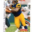 Sean Gilbert RC Tradng Card Single 1992 Upper Deck #424 Rams RF