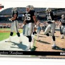 Napoleon Kaufman Tradng Card Single 1996 Score #75 Raiders