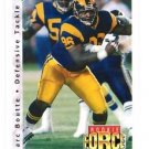 Marc Boutte RC Tradng Card Single 1992 Upper Deck #403 Rams RF