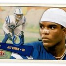 Jeff Burris Tradng Card Single 2001 Fleer Tradition #264 Colts