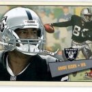 Andre Rison Tradng Card Single 2001 Fleer Tradition #38 Raiders